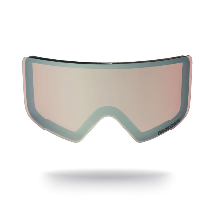 Config magnetic silver low light goggle lens